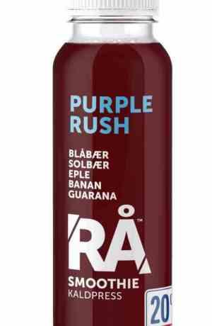 Prøv også Synnøve rå purple rush.