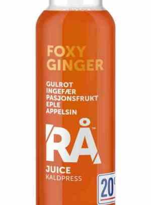 Prøv også Synnøve rå foxy ginger.