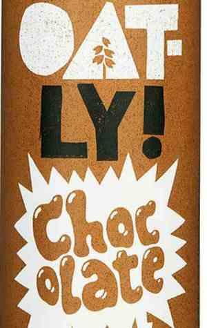 Prøv også Oatly chocolate.