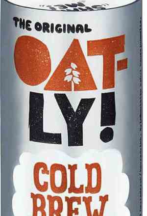 Prøv også Oatly cold brew latte.