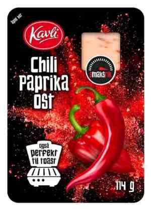 Prøv også Kavli Smaksrik Chili Paprika Ost.