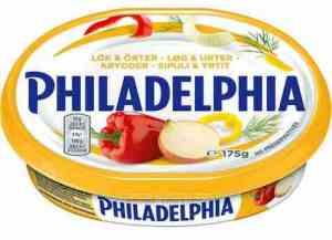 Prøv også Philadelphia krydder.