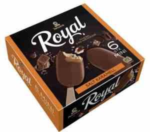 Prøv også Diplom Royal mini Salt Karamell.