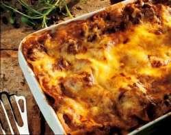 Bilde av Lasagne, med kjøttdeig.