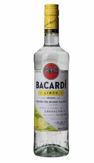 Prøv også Bacardi Lemon.