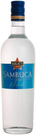 Prøv også Sambuca.