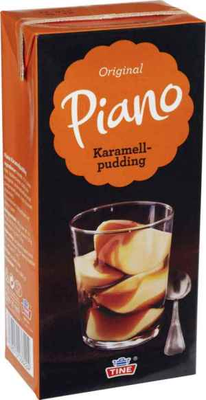 Prøv også Tine Piano Karamellpudding.