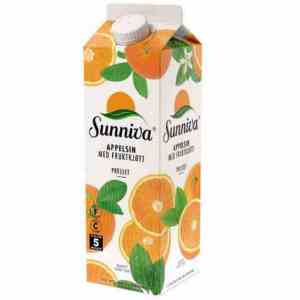 Prøv også Tine Sunniva Premium Appelsinjuice med fruktkjøtt.