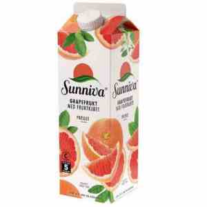 Prøv også Tine Sunniva Premium Grapefruktjuice.