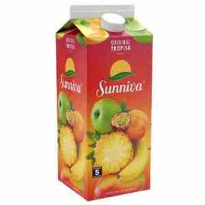 Prøv også Tine Sunniva Original Tropiskjuice.