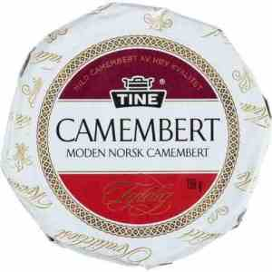Prøv også Tine Camembert.