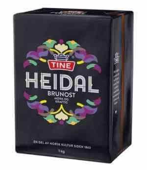 Prøv også Tine Heidalsost.