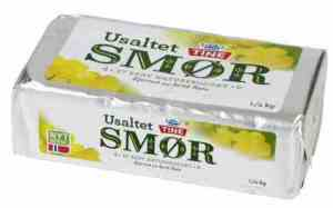 Prøv også Tine Usaltet smør.