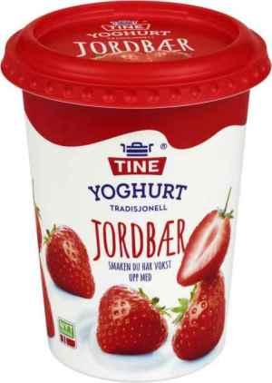 Prøv også TINE Yoghurt Jordbær.