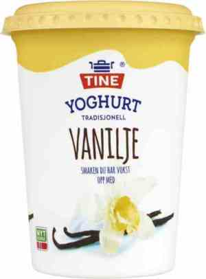Prøv også TINE Yoghurt Vanilje.