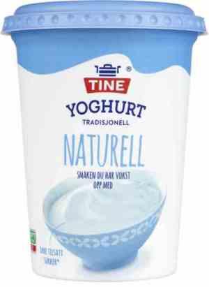 Prøv også TINE Yoghurt Naturell.