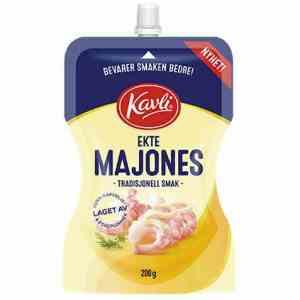 Prøv også Kavli ekte majones.