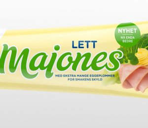 Prøv også Kavli lett majones.