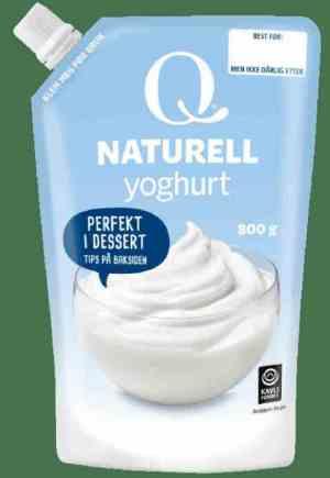 Prøv også Q Frokostyoghurt naturell.