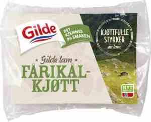 Prøv også Gilde Fårikålkjøtt av lam frossent.