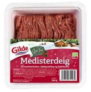Prøv også Gilde Medisterdeig.
