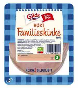 Prøv også Gilde Røkt familieskinke.