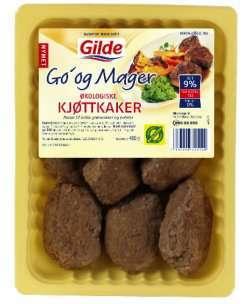 Prøv også Gilde Go og mager kjøttkake økologisk.