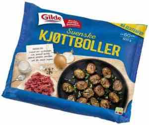 Prøv også Gilde Svenske kjøttboller.
