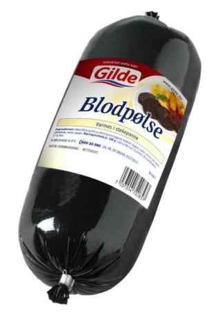 Prøv også Gilde Blodpølse.