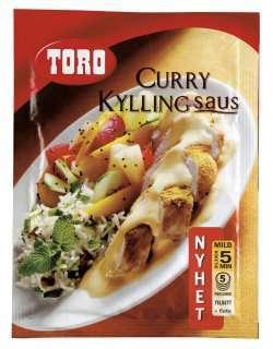 Bilde av Toro curry kyllingsaus.