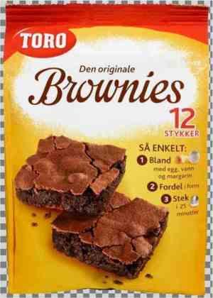 Prøv også Toro brownies.