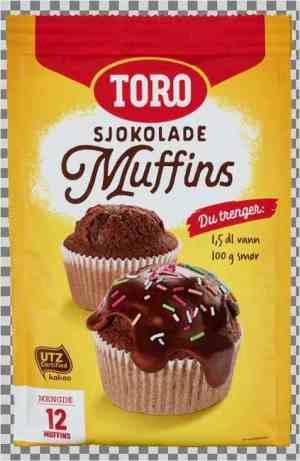 Prøv også Toro sjokolademuffins.