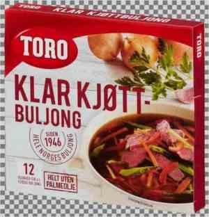 Prøv også Toro Kjøttbuljong terninger.