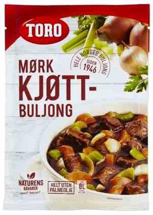 Prøv også Toro Mørkt Kjøttbuljong pulver.