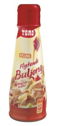 Prøv også Toro flytende buljong kylling.