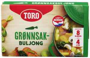 Prøv også Toro grønnsaksbuljong.