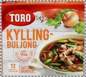 Prøv også Toro kyllingbuljong utblandet.