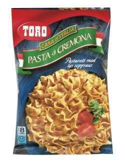 Prøv også Toro Pasta di Cremona tilberedt.