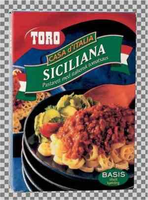Prøv også Toro siciliana tilberedt.
