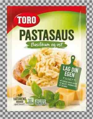 Prøv også Toro pastasaus med basilikum og ost.