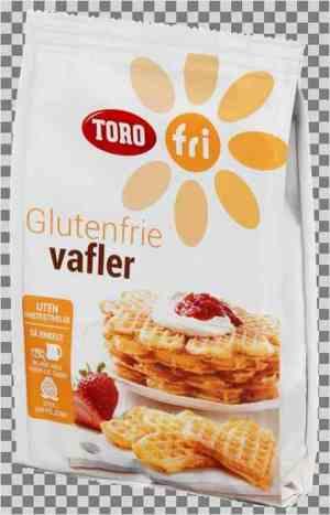 Prøv også Toro glutenfrie vafler.