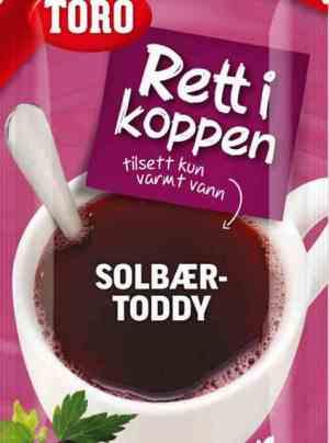 Prøv også Toro Rett i Koppen Solbærtoddy.