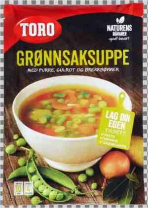 Prøv også Toro grønnsaksuppe.