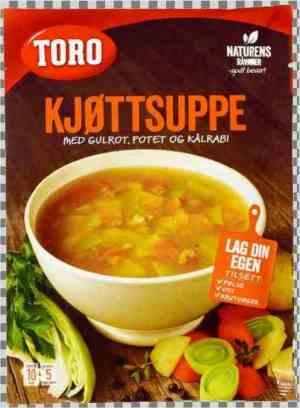 Prøv også Toro kjøttsuppe med grønnsaker.