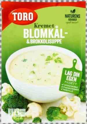 Prøv også Toro kremet blomkål og brokkolisuppe.