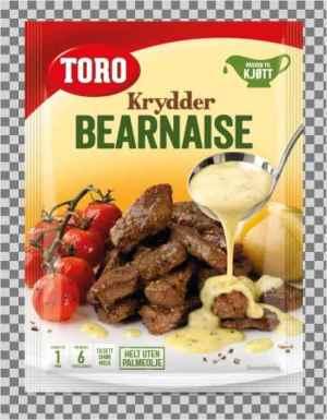 Prøv også Toro krydderbernaise.
