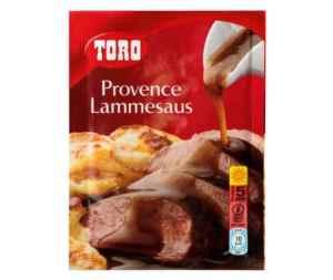 Prøv også Toro provence lammesaus.
