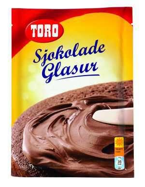 Prøv også Toro glasurmiks lys sjokolade.