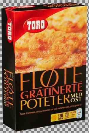 Prøv også Toro fløtegratinerte poteter med ost.