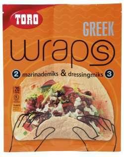 Bilde av Toro wraps greek.